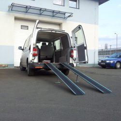 Nájazdové rampy pre invalidný vozík