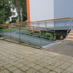 Roštové rampy pre imobilných