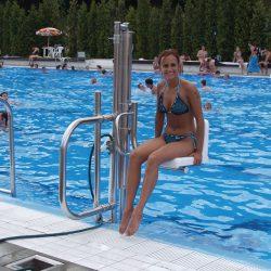 Bazénový zdvihák