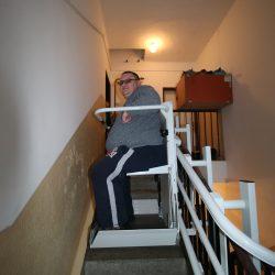 Stoličkový výťah pre p. Horvátha, Moravský sv. Ján