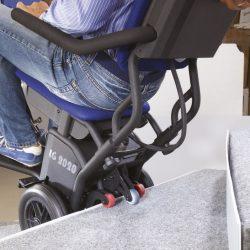 Kolieskový schodolez pre vozičkára