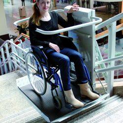 Šikmá schodisková plošina