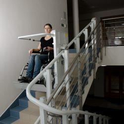 Domáci výťah pre vozíčkárov