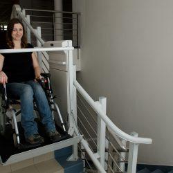 Zdvíhacia plošina pre handicapovaných