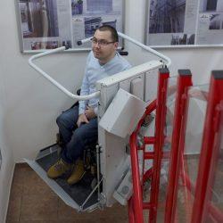 Zdvíhacia plošina pre telesne postihnutých