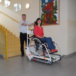 Mobilná schodisková plošina PUBLIC