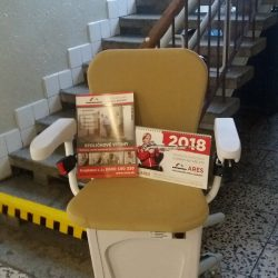 Montáž stoličkového výťahu do ZŠ a MŠ Rudolfa Dilonga, Trstená