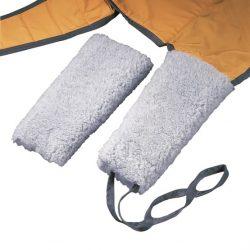 Plášť ovčej kože k zdvíhacím vakom. Ideálne pre používateľov, ktorí sú obzvlášť citliví alebo majú bolesti.