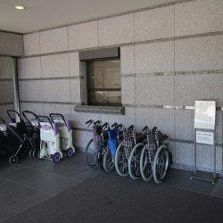 Pripravené vozíky pre návštevníkov v múzeu