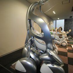 Futuristický vozík v múzeu firmy Toyota