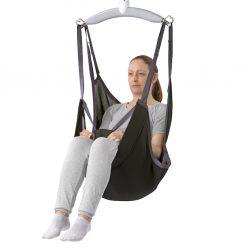 Vak pre kompfortné sedenie pri hygienických úkonoch. Zdvihový objem do 255kg.