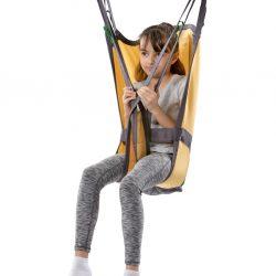 Základný Vak pre deti. Polstrovaná časť nohy pre zvýšenie komfortu. Dostatočná podpora hlavy