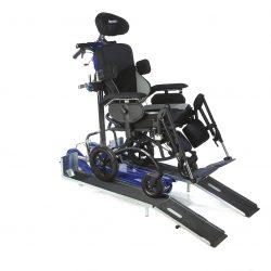 Prídavné rampy pre mechanický vozík