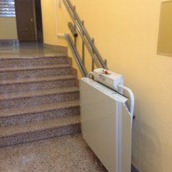 Schodisková plošina pre invalidov