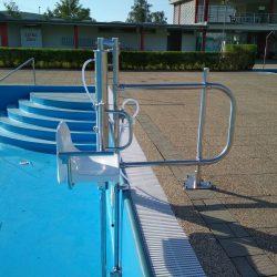 Bazénový zdvihák pre vozičkára