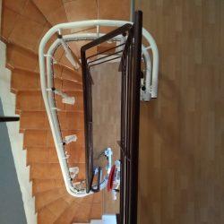 Stoličková sedačka pre imobilných