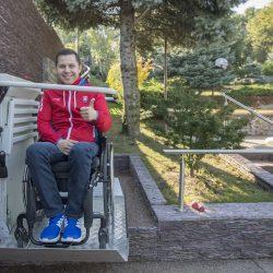 Šikmá schodisková plošina pre vozičkárov - Radoslav Malenovský