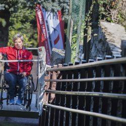 Šikmá schodisková plošina pre vozičkárov - Veronika Vadovičová
