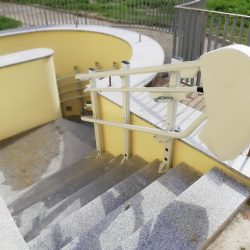 Schodisková plošina v Hanušovciach nad Topľou
