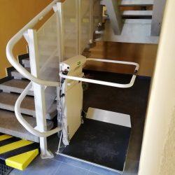 Montáž šikmej schodiskovej plošiny, Liptovský Mikuláš