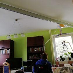 Montáž šikmej schodiskovej plošiny a stropného zdviháku, Senec
