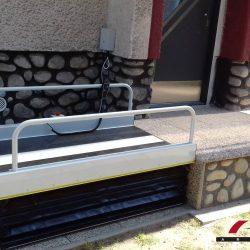 Montáž zvislej zdvíhacej plošiny v Poprade