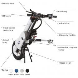 Prídavný pohon TRAIN-OX pre mechanické vozíky