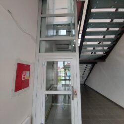 Montáž zdvíhacej plošiny pre vozičkárov, Trnava
