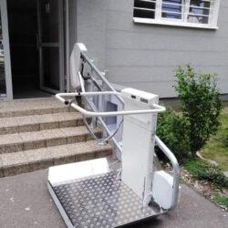 Montáž šikmej schodiskovej plošiny, Bratislava